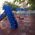 Finalitzada la nova zona de jocs infantils de Ciutat Vella