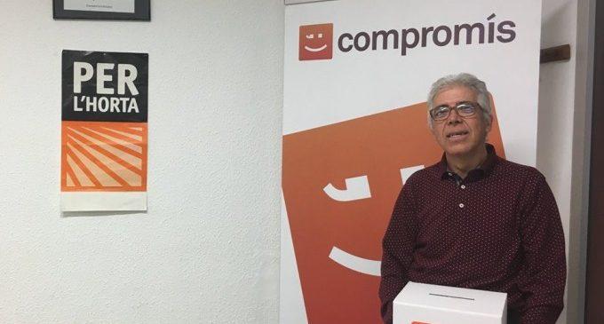 Pep Esplà, candidat per Compromís a l'alcaldia de Montcada per a les eleccions de 2019
