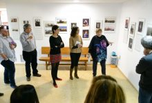 Inaugurada l'exposició Mestres del Pinzell a l'Ajuntament de Paiporta