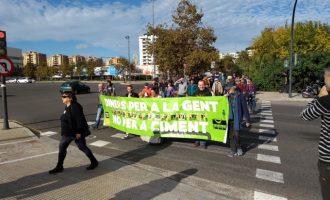 """Per l'Horta reclama a Foment que renuncie a l'ampliació de la V-21 i que """"aposte més pel transport públic"""""""
