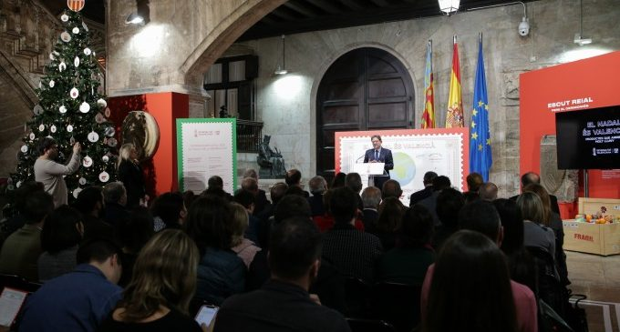 """Hui arranquen un fum d'activitats en el Palau amb """"El Nadal és valencià"""""""