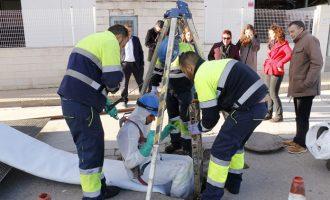Rehabilitació dels col·lectors del polígon Campo Aníbal