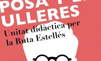 """Aviva Burjassot presenta """"Posa't les Ulleres"""", una unitat didàctica del poeta Vicent Andrés Estellés"""