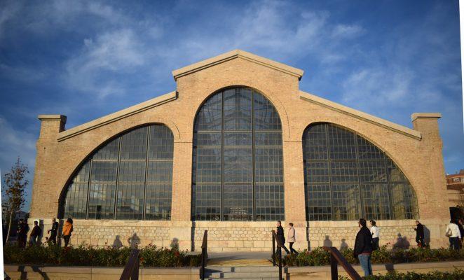 Edificios parque central valencia