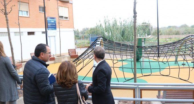Quart de Poblet conclou l'obra del Parc Porta del Túria, que fa accessible l'entrada al riu