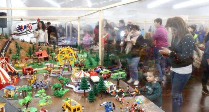 Más de 5.000 personas visitan la exposición de Playmobil en su primer fin de semana abierta al público