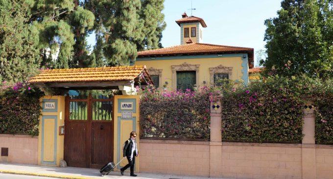 Puig visita Villa Amparo al costat de l'expresident Zapatero