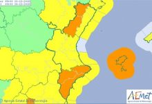 La Comunitat Valenciana está en alerta este jueves por viento, nieve y lluvia