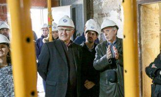 Les obres de l'Alqueria del Moro acabaran al setembre després d'un any de treball i 1,5 milions d'inversió