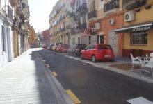 Finalitzen les obres de reurbanització del carrer Túria