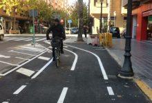Comencen les obres del carril bici de l'avinguda de l'Institut Obrer de València