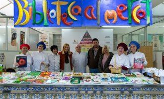 Compres nadalenques i llibres de cuina saludable al Mercat de Mislata