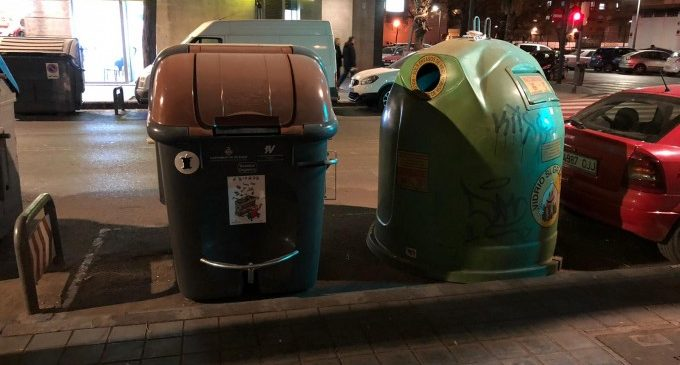 El nombre de contenidors de recollida selectiva es duplica a València