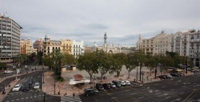 La plaça de l'Ajuntament, un espai més de Nadal