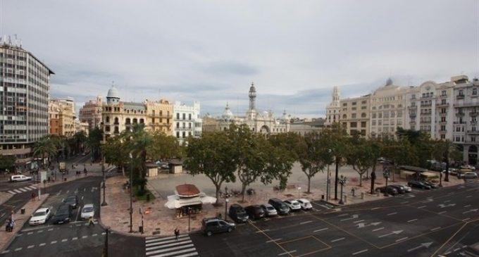 La peatonalització permanent de la plaça de l'Ajuntament començarà el 20 de març