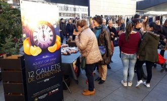 Vila-real proposa canviar els 12 raïms per 12 gallets de mandarina en Nit de cap d'any per a promocionar els cítrics valencians