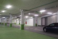 Más de 1.100 coches aparcan en las primeras 48 horas del parking de Brujas, con picos superiores al 75%