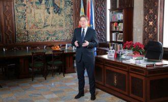 Puig destaca la estabilidad del Botànic como un referente nacional en su mensaje navideño