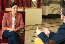"""Sandra Gómez:"""" El PSPV som més de treballar i de bolcar-nos en la gent."""""""