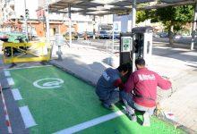 Paiporta instal·la el seu primer punt de recàrrega públic per a vehicles elèctrics