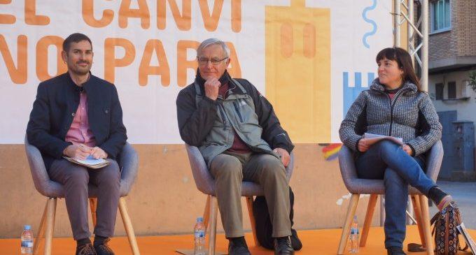 Ribó defensa les polítiques socials de Compromís en una València on ja no es talla la llum ni l'aigua a qui no pot pagar-les