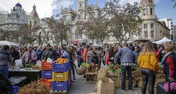 Éxito de participación en la nueva edición 'De l'horta a la plaça'