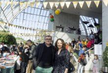 El Palau de la Música se llena de música, teatro y juegos en el festival 'Feretes i cançonetes'