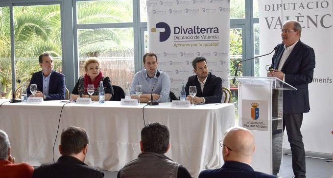 La Diputació i els ajuntaments de Cheste, Loriguilla i Riba-roja de Túria s'uneixen per a potenciar l'àrea empresarial A3