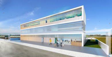 El futur Centre d'Acolliment d'Animals, un espai de luxe amb zones verdes i vistes a l'horta