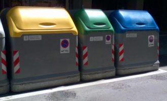 Ontinyent s'adherix a Ecoembes per acabar amb les deficiències en la recollida selectiva de residus