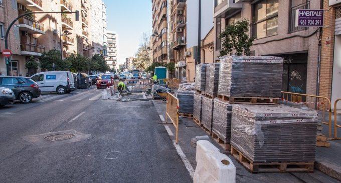 Comença la construcció de l'eix ciclista que unirà Torrefiel i Orriols amb el centre