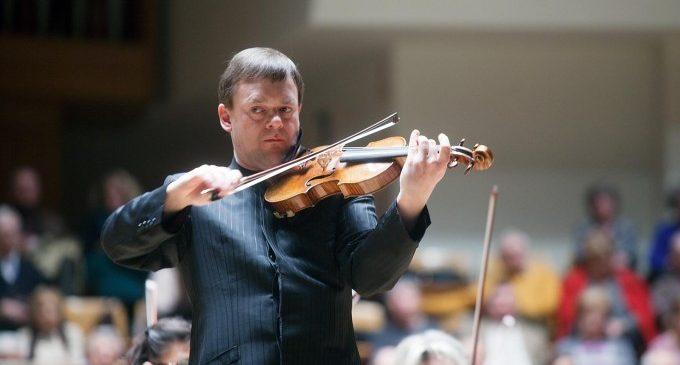 Franz Peter Zimmermann i la OV porten aquest divendres al Palau el concert per a violí de Mendelssohn