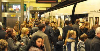 La vaga de Metrovalencia s'amplia fins al 31 de març