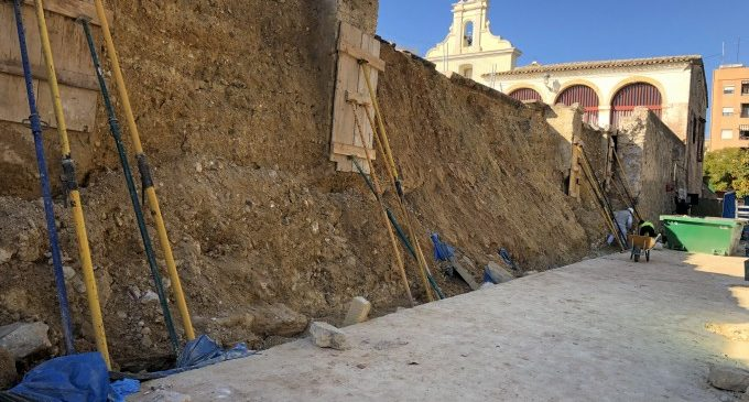 Patrimoni aprova la solució constructiva per al mur del Pati de les Sitges