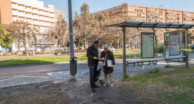 Nou encreuament de vianants semaforitzat a l'avinguda de Blasco Ibáñez