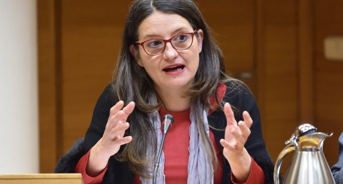 Oltra destaca que el 76% de les mesures del Pacte Valencià contra la Violència de Gènere estan executades o en procés