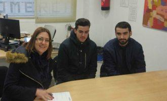 Dos alumnos del programa POEJ obtienen beca de excelencia para trabajar 3 meses en el Ayuntamiento de Quart de Poblet