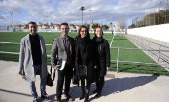 Catarroja rehabilita diversos espais del poliesportiu municipal amb l'ajuda de la Diputació de València