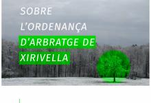 Xirivella inicia el procés de participació ciutadana sobre l'ordenança reguladora de l'arbratge