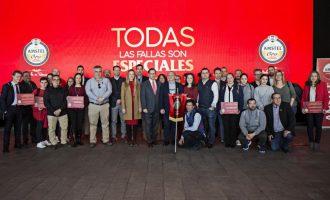 La Falla Barraca Espadán guanyadora del II Premi Amstel 'Unes Falles de Categoria'