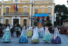 Les candidates de Burjassot a Fallera Major i Fallera Major Infantil de València es presenten a la preselecció