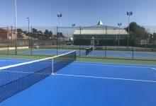 Torrent finalitza les obres de millora de la quarta pista de tennis de Anabel Medina