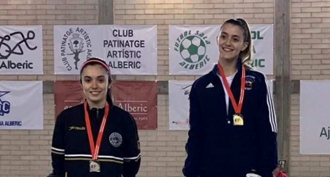 Dos plates i un bronze per al Club Esportiu PIAAM de Paiporta en el Campionat Autonòmic de taekwondo