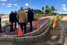 La Conselleria amplia el carril bici/vianant existent al costat de la CV-300 a Massamagrell