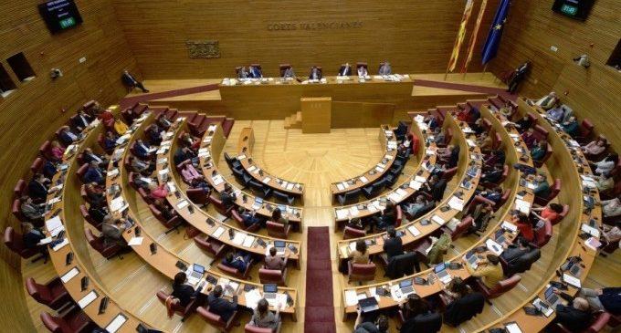 Las comisiones de Les Corts echan a andar: 5 presidencias para PSPV, 4 para Compromís y 2 para PP, UP y Cs