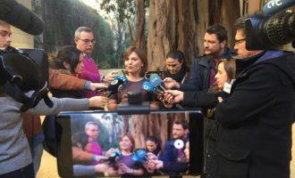 """Bonig sobre las conversaciones de Zaplana en Erial: """"No nos gustan, son graves, pero habrá que probarlo en un proceso"""""""
