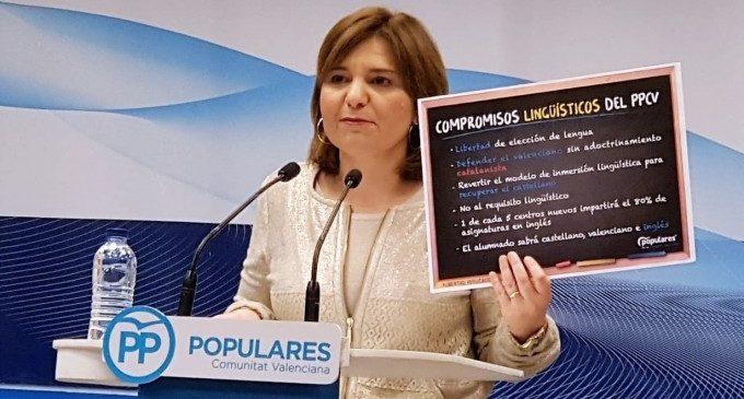 """Bonig se compromete a defender el valenciano """"sin adoctrinamiento"""" y reitera el rechazo al requisito lingüístico"""