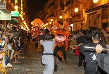 La Cavalcada de l'Any Nou Xinés inunda el centre de València de ball i color