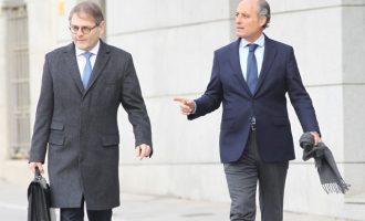 Camps evita el 'paseíllo' en l'Audiència Nacional en demanar que li notifiquen a València que serà jutjat