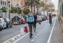 La nova Ordenança de Mobilitat ja regula la circulació dels patinets a València